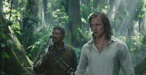 "Samuel L. Jackson e Alexander Skarsgard in ""The legend of Tarzan"""