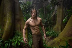 "Alexander Skarsgård in ""The legend of Tarzan"""