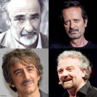Alessandro Haber, Rocco Papaleo, Sergio Rubini e Giovanni Veronesi