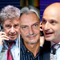 Antonio Catania, Gigio Alberti e Gianluca Ramazzotti
