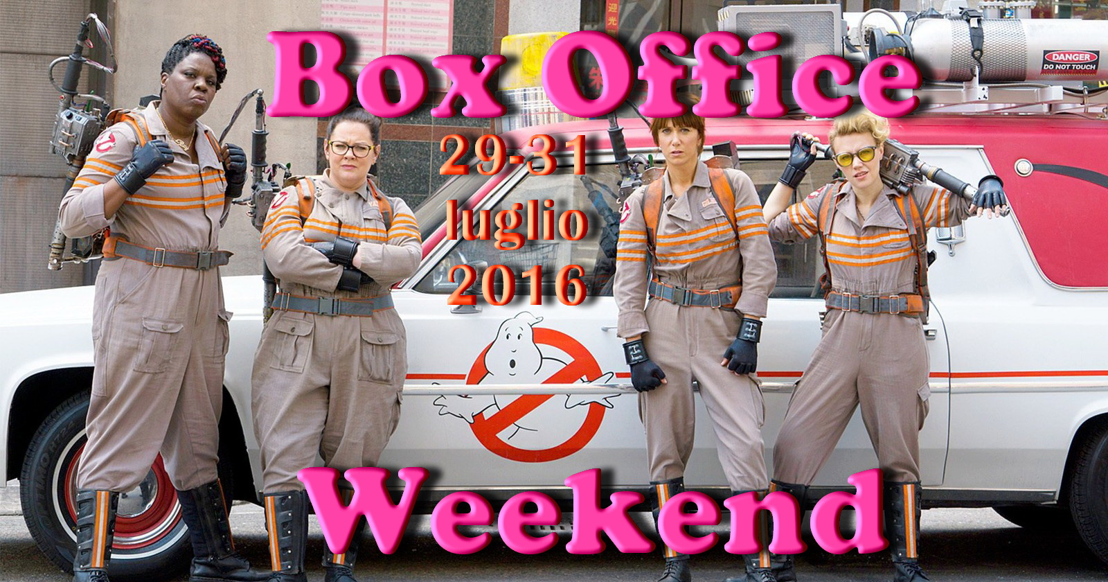 box office weekend le ghostbusters in testa ma il botto. Black Bedroom Furniture Sets. Home Design Ideas