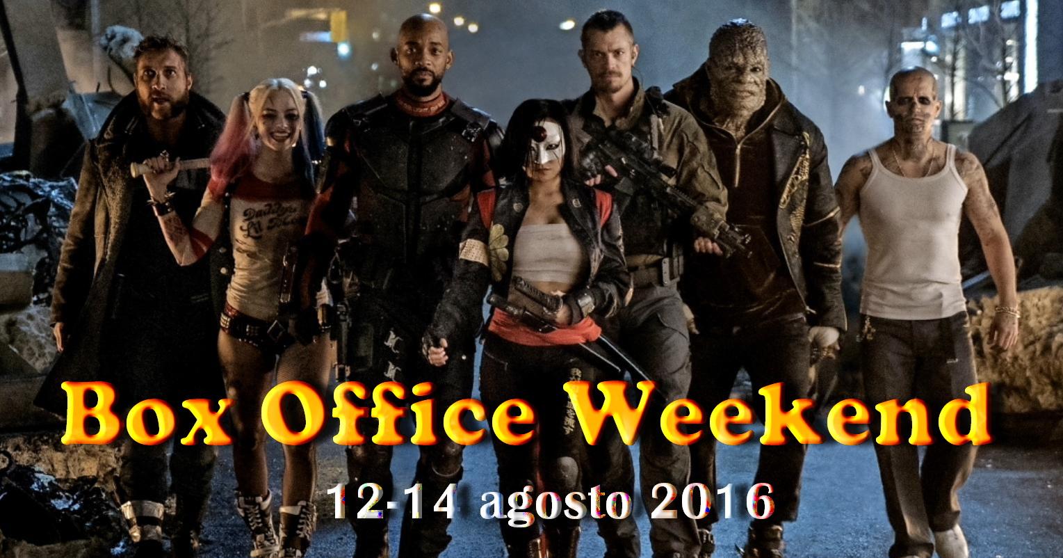 """Terzo appuntamento di agosto con la rubrica """"Box Office Weekend"""", dedicata agli incassi del fine settimana cinematografico. Scontato trionfo ferragostano al botteghino italiano (e mondiale) per l'attesissimo Suicide Squad (leggi […]"""