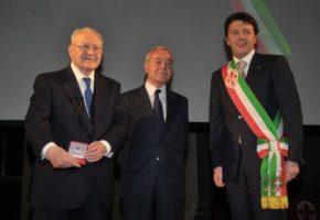 Ettore Bernabei, Gianni Letta e Matteo Renzi