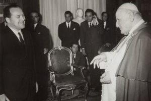 Ettore Bernabei e Papa Giovanni XXIII