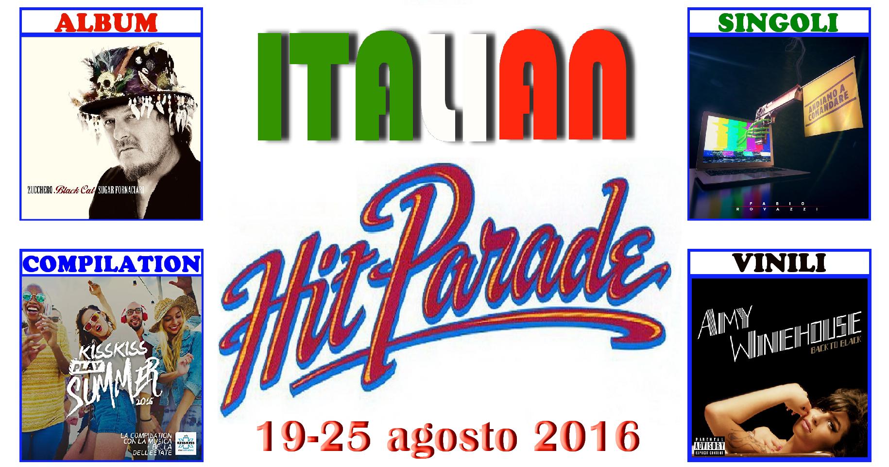 """Ultimo appuntamentodi agosto con la rubrica """"Italian Hit Parade"""" e le classifiche dei dischi più venduti in Italia. A quanto pare questo agosto non è poi così eterno come sembrava, […]"""