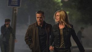 "Matt Damon e Julia Stiles in ""Jason Bourne"""