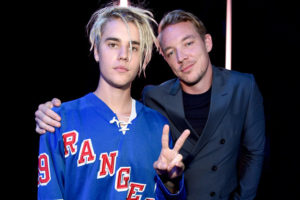 Justin Bieber e Diplo (Major Lazer)