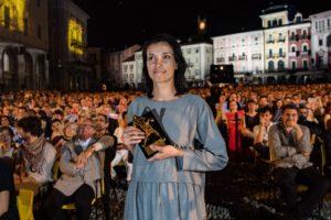 """Ralitza Petrova con il Pardo d'Oro per """"Godless"""""""