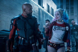 "Will Smith e Margot Robbie in ""Suicide Squad"""
