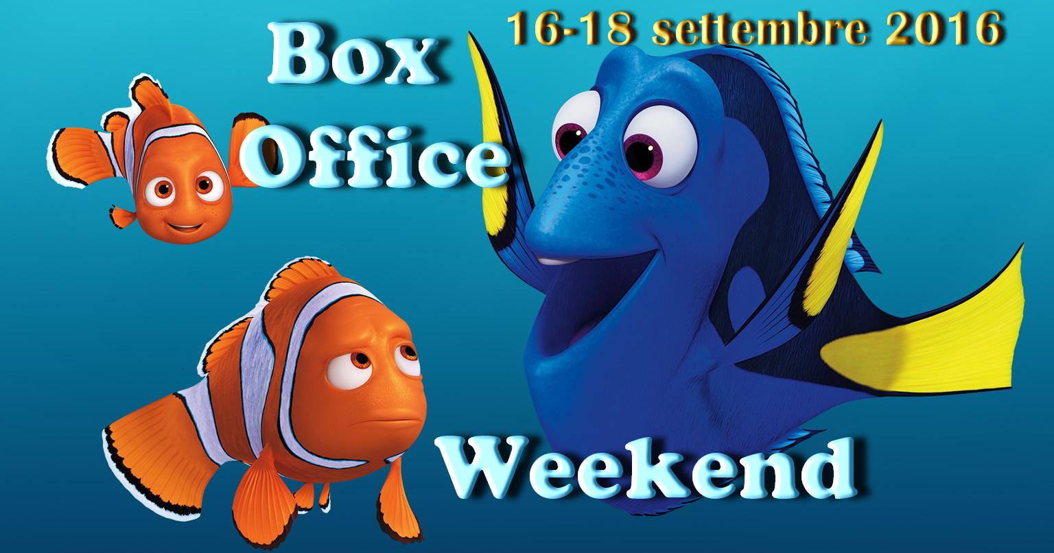 """Terzo appuntamento di settembre con la rubrica """"Box Office Weekend"""", dedicata agli incassi del fine settimana cinematografico. Esordio clamoroso ma ampiamente previsto per Alla ricerca di Dory (leggi la recensione), […]"""