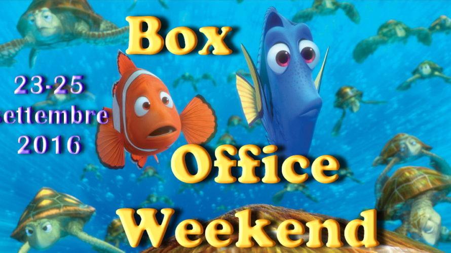 """Terzo appuntamento di settembre con la rubrica """"Box Office Weekend"""", dedicata agli incassi del fine settimana cinematografico. Prosegue nella seconda settimana di programmazione il successo di Alla ricerca di Dory […]"""