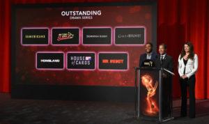 Le nomination per la miglior serie drammatica