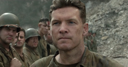 Il capitano Glover (Sam Worthington) - Hacksaw Ridge