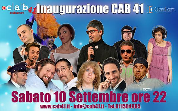 Dal 10 Settembre Torino tornerà a ridere, perché sabato 10 settembre riaprirà lo storico tempio del Cabaret Torinese: il Cab 41, ho incontrato il boss del locale Andrea Fasoglio, per […]