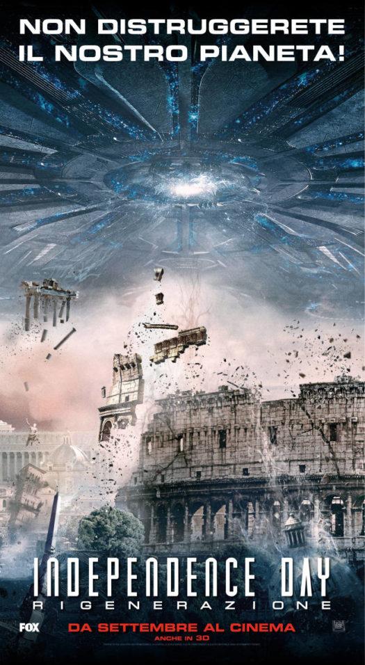 IndependenceDay2_Rigenerazione_Poster_Ita_Colosseo