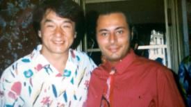 Jackie Chan e Lorenzo De Luca nel 1995