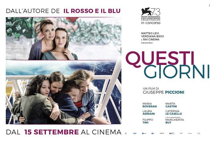 Alla Mostra del Cinema di Venezia è stato presentato l'ultimo dei tre film italiani in concorso, Questi giorni di Giuseppe Piccioni, interpretato da quattro giovani ragazze con la partecipazione di […]
