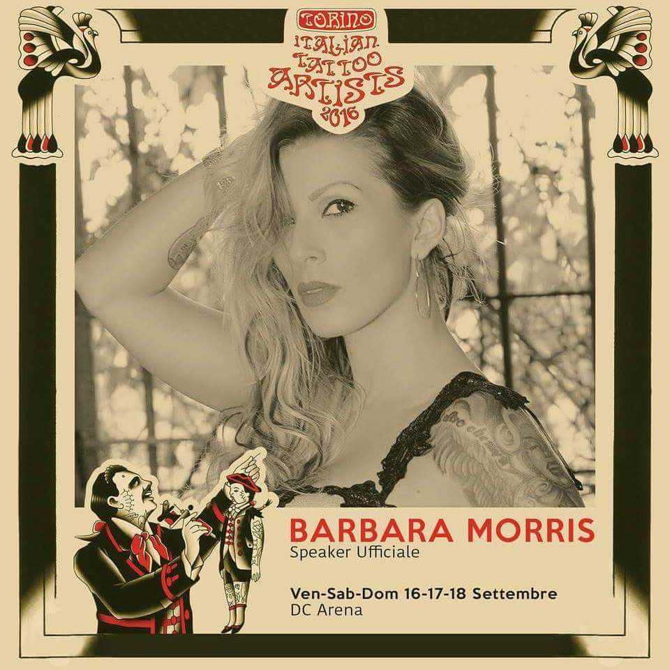 Ciao a tutti sono Barbara Morris ed oggi vi parlerò dell' imminente Tattoo convention di Torino, l'evento nel quale sarò la speaker ufficiale della DC Arena. La manifestazione,si svolgerà a […]
