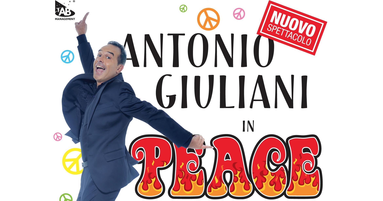 """Antonio Giuliani torna dal 26 al 30 ottobre al Teatro Olimpico con il nuovissimo spettacolo """"PEACE"""". PEACE: una sola parola, un unico significato universale, ovvero la condivisa armonia tra i […]"""