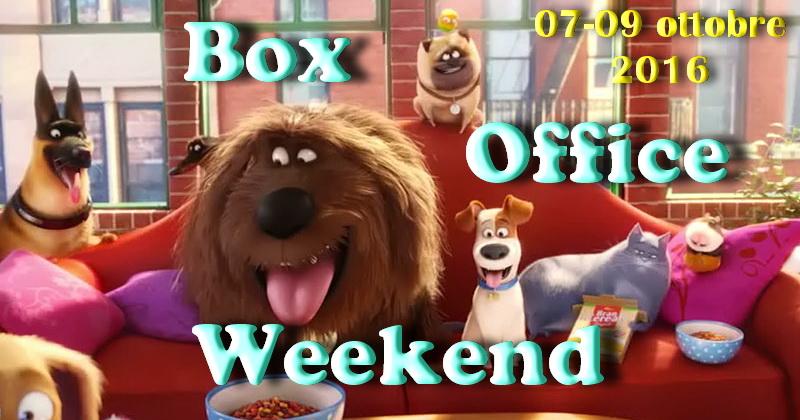 """Secondo appuntamento diottobre con la rubrica """"Box Office Weekend"""", dedicata agli incassi del fine settimana cinematografico. Come ampiamente previsto c'è stato il passaggio di consegne tra i due film d'animazione […]"""