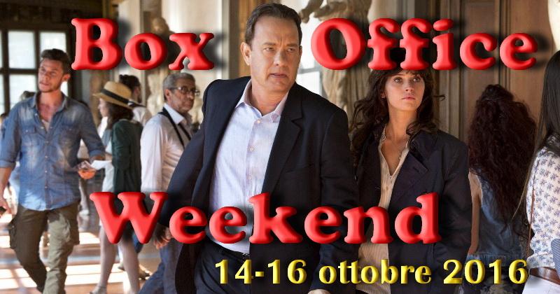 """Terzo appuntamento diottobre con la rubrica """"Box Office Weekend"""", dedicata agli incassi del fine settimana cinematografico. Inevitabilmente è l'attesissimo Inferno (leggi la recensione)il film più visto con un incasso monstre […]"""
