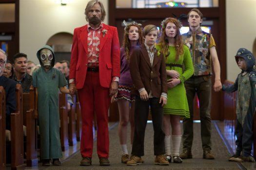 """Viggo Mortensen e i suoi sei figli in """"Captain Fantastic"""""""