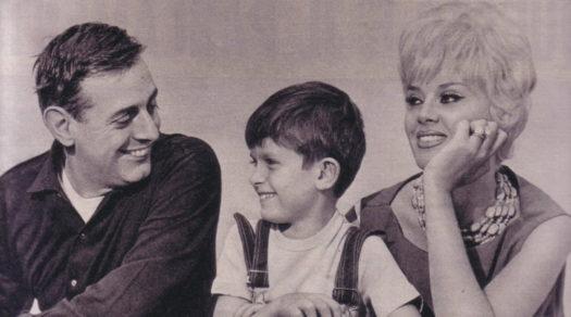 Dario Fo e Franca Rame con il piccolo Jacopo