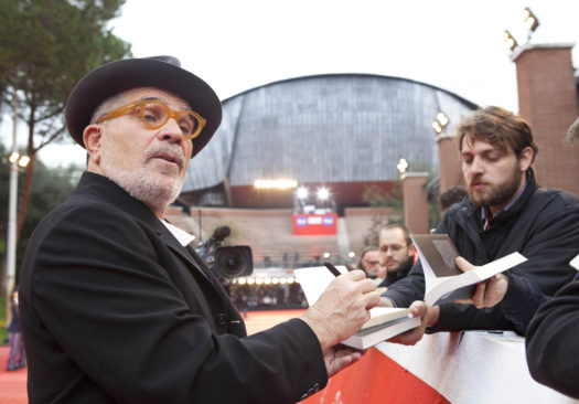 David Mamet sul Red Carpet (foto Dammicco)