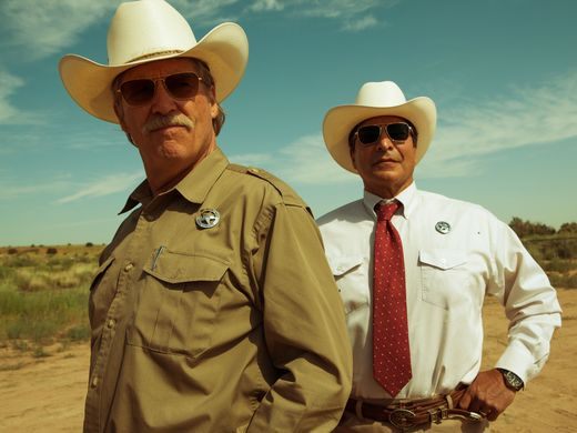 "Jeff Bridges e Gil Birmingham in ""Hell or high water"""