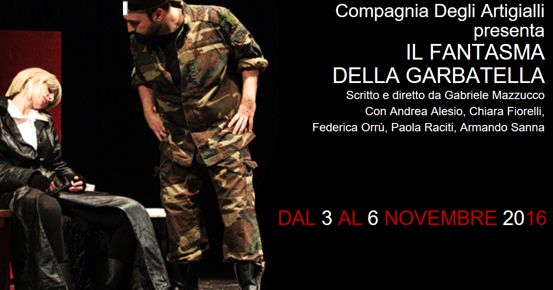 Dal 3 al 6 Novembre al Teatro Ambra alla Garbatella di Roma, dopo il successo della scorsa stagione, torna in scena a grande richiesta Il Fantasma della Garbatella scritto e […]