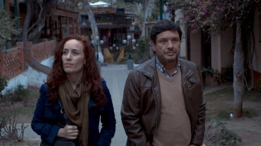 """Katerina D'Onofrio e Lucho Cáceres in """"La última tarde"""""""