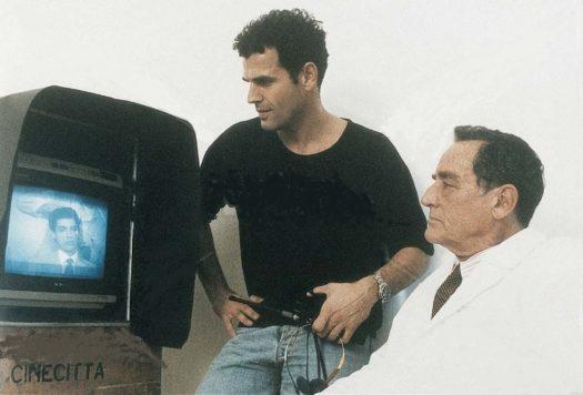 Pino Quartullo e Vittorio Gassman