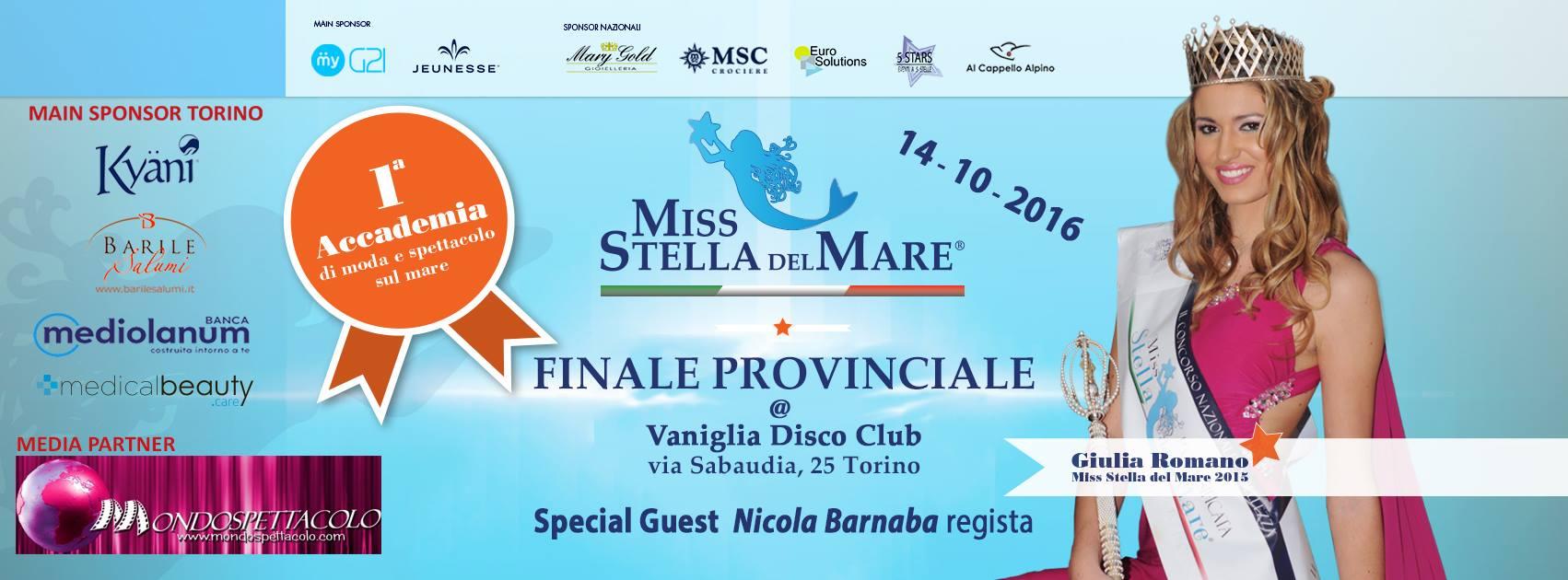 Ci siamo, manca ormai pochissimo alla finale provinciale (Torino) di Miss Stella del Mare, dove per giudicare le finaliste Torinesi, la squadra di Mondospettacolo ha chiamato in giuria personaggi […]