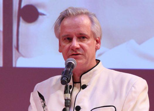 Il regista Kriss Kraus