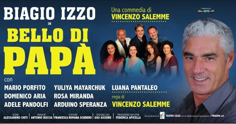 L'esilarante commedia scritta e diretta da Vincenzo Salemme, Bello di papà, sarà in scena al Teatro Ambra Jovinelli dal 3 al 13 novembre; protagonista un travolgente Biagio Izzo con Mario […]