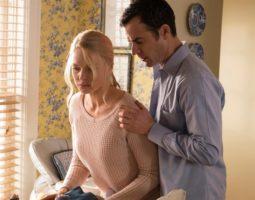 """Rebecca Ferguson e Justin Theroux in """"La ragazza del treno"""""""