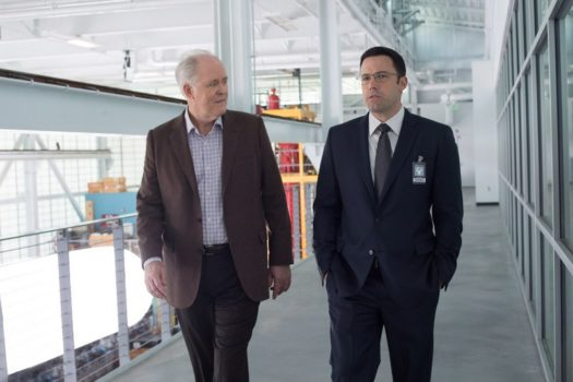 "John Lithgow e Ben Affleck in ""The Accountant"""