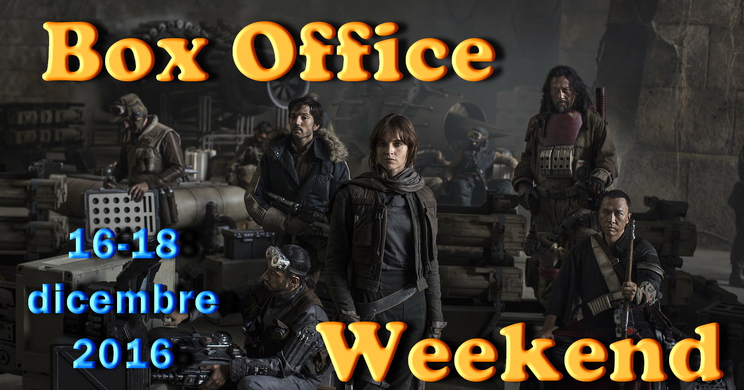 Terzo appuntamento di dicembre con la rubrica Box Office Weekend e gli incassi del fine settimana cinematografico, con Rogue One: A Star Wars Story che domina ma non esagera. Ci […]