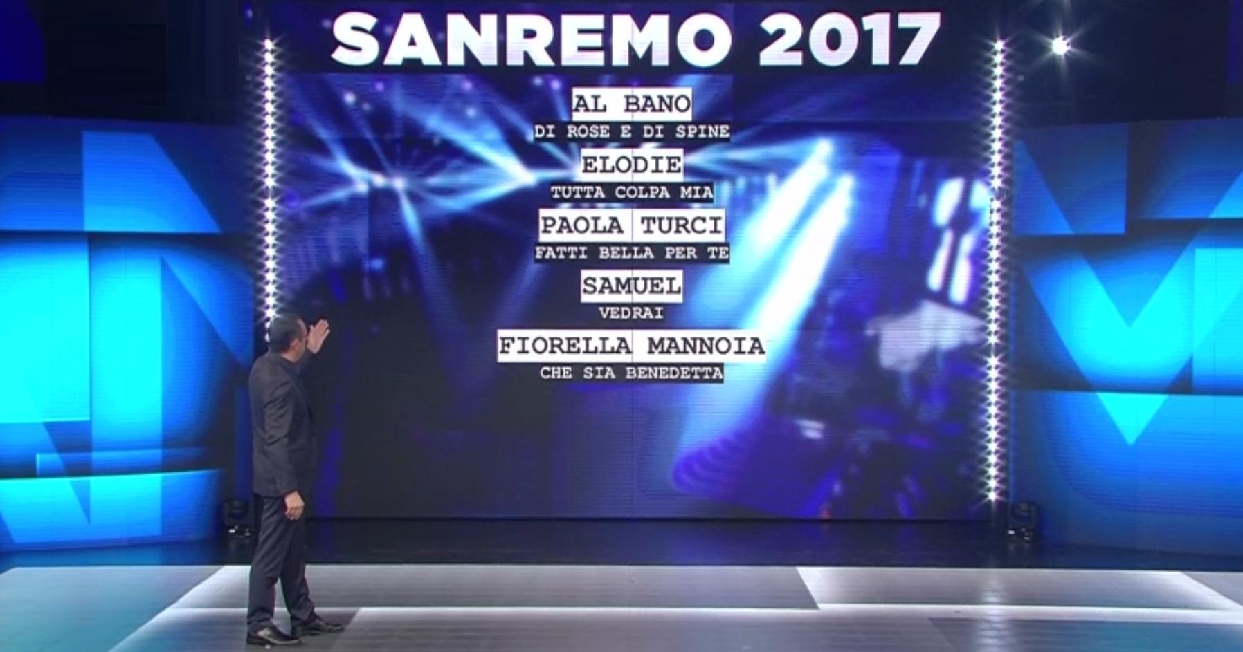 Saranno ventidue i Big che parteciperanno alla settantasettesima edizione del Festival della Canzone Italiana di Sanremo 2017, dal 7 all'11 febbraio. Sanremo 2017: Ventidue, il numero magico che Carlo Conti […]