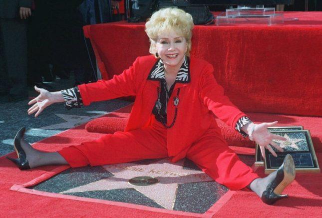 Debbie Reynolds riceve la Stella sulla Walk of Fame (1997)