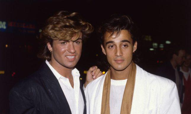 George Michael e Andrew Ridgeley al tempo degli Wham!