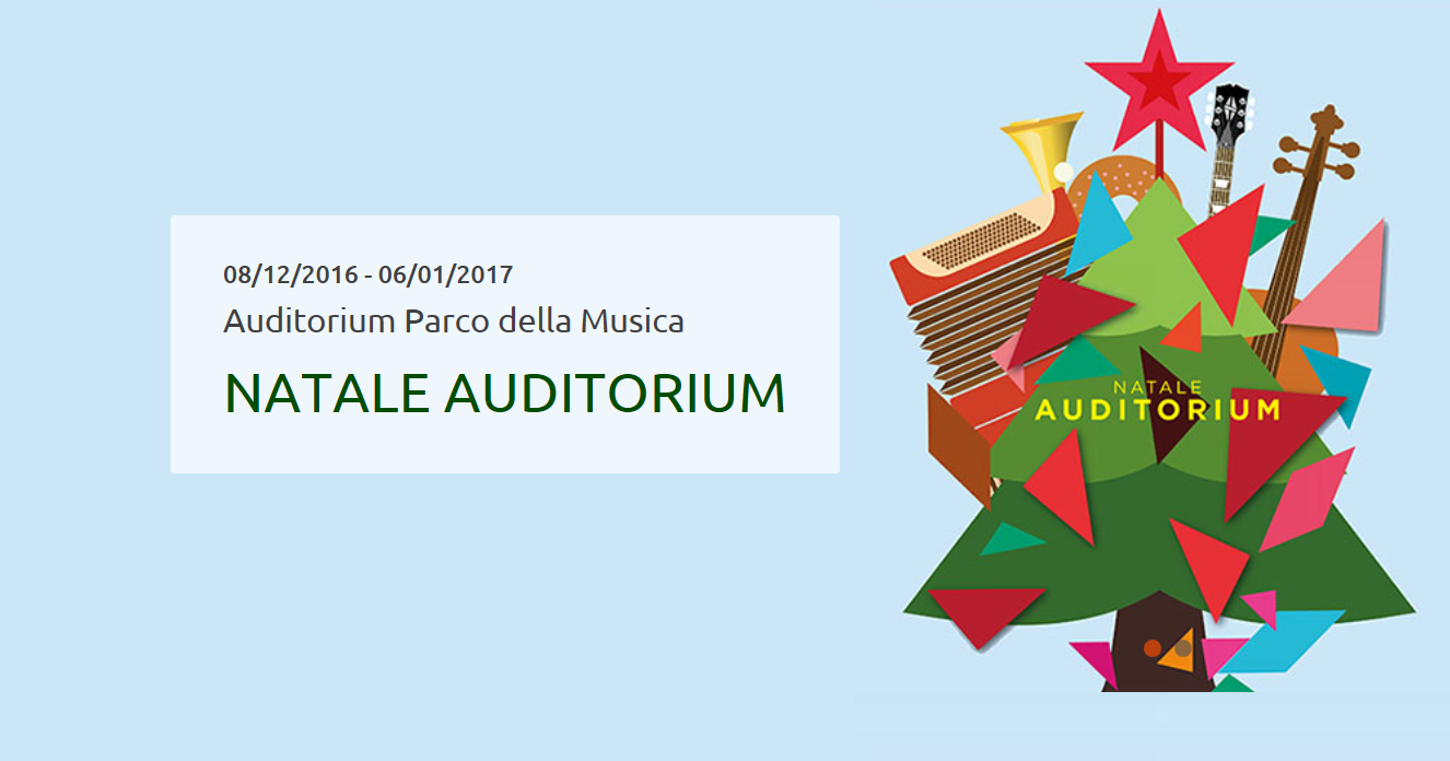 Natale all'Auditorium 2016