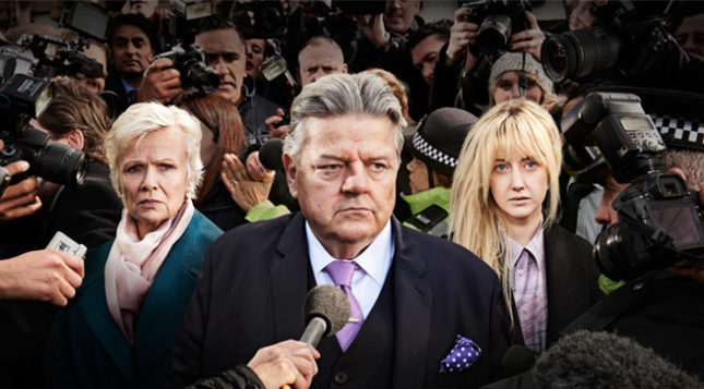 "Robbie Coltrane in ""National Treasure"""
