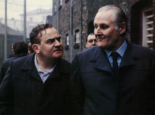 "Ronnie Barker e Peter Vaughan in ""Porridge"""