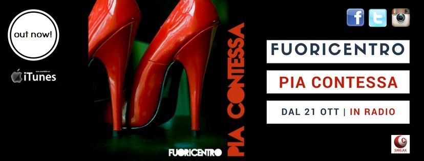 """Sta ottenendo un grande successo """"Pia Contessa"""", il nuovo singolo dei Fuoricentro. Scritto dal cantante Maurizio Camuti e dal chitarrista Roberto Arru, parla di omofobia da un punto di vista […]"""