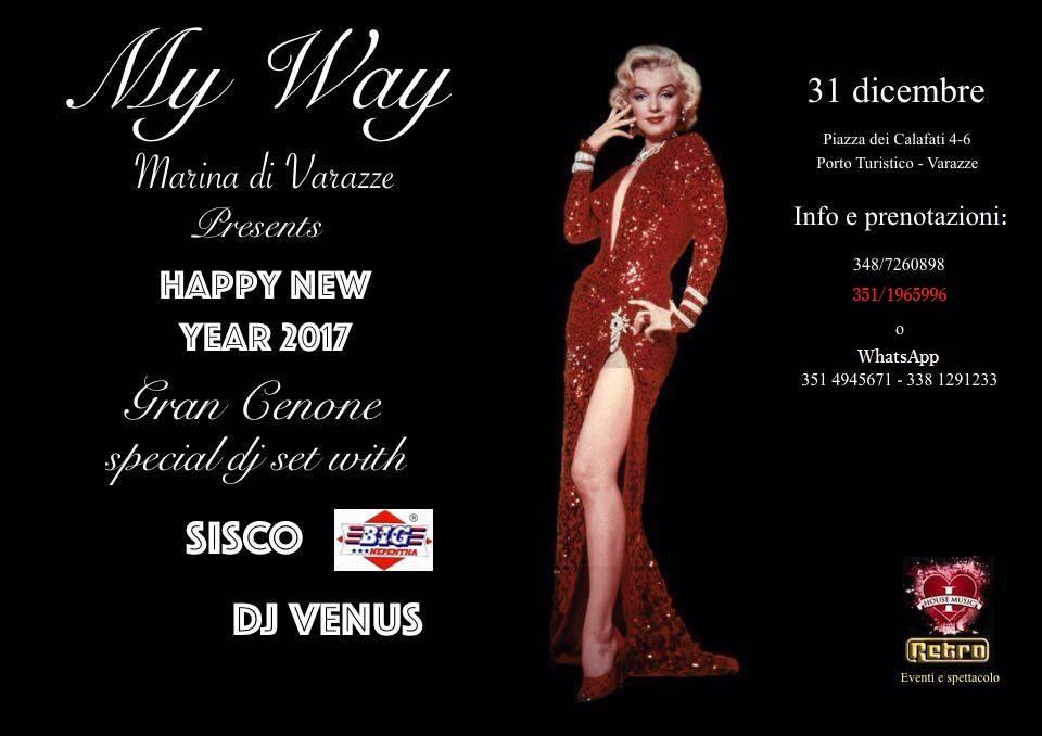 """Uno """"Spettacolo"""" di Capodanno solo per voi: il tutto al My Way Marina di Varazze, Porto Turistico. Una Notte esclusiva, con Cenone, DjsSet, Hotel. Di: Galgano PALAFERRI E dunque ci […]"""