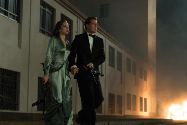 Allied - Marion Cotillard e Brad Pitt