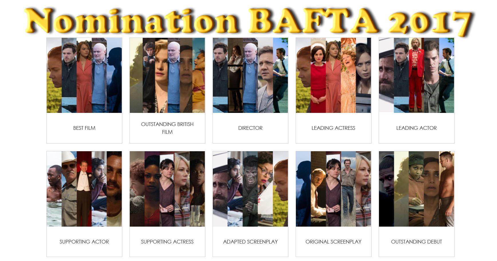 La La Land domina anche le nomination dei BAFTA 2017, seguito a breve distanza da Arrival ed Animali notturni. Gennaio tempo di nomination, e non potevano mancare quelle dei BAFTA, […]