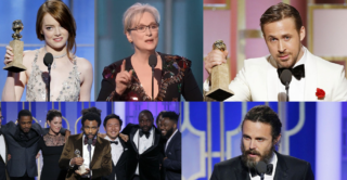 Golden Globe 2017 vincitori