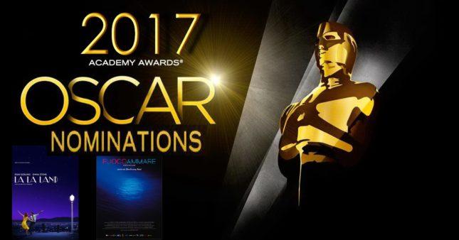 Nomination Oscar 2017: La La Land da record, c?è Fuocoammare di Rosi